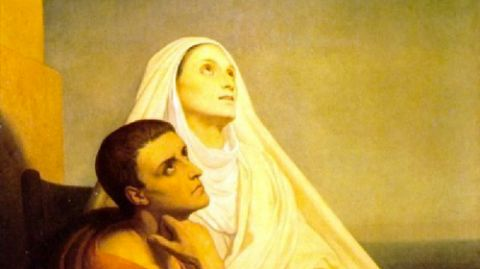 St. Monica and St. Augustine